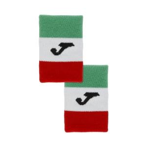 Muñequeras Tenis Joma Italy Flag Munequeras  Green/White/Red FIT400300P11