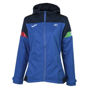 Tennis Jackets Girls Joma FIT Jacket Girl  Blue FIT901271703