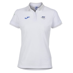 Top e Maglie Girl Joma FIT Polo Bambina  White FIT900444200