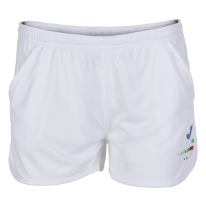 Gonne e Pantaloncini Girl Joma FIT Italy 2in Pantaloncini Bambina  White FIT900250200
