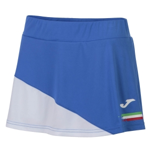 Shorts and Skirts Girl Joma Italy Skirt Girl  Blue FIT900978702