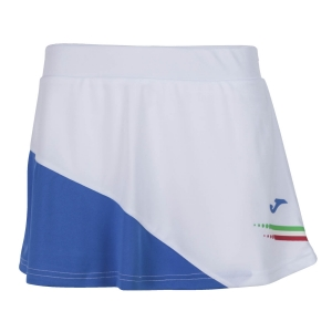 Shorts and Skirts Girl Joma FIT Italy Skirt Girl  White FIT900978207