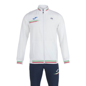 Boy Tracksuit and Hoodie Joma FIT Tracksuit Boys  White FIT102236203