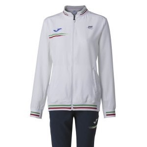 Tracksuit and Hoodie Girl Joma FIT Tracksuit Girl  White FIT901403203