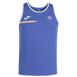 Tennis Polo and Shirts Joma FIT Tank Boy  Blue FIT102244702