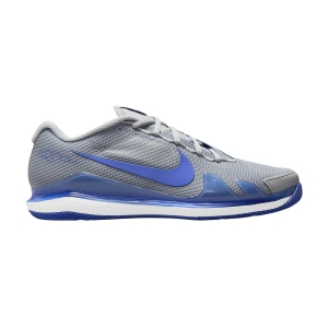 Men`s Tennis Shoes Nike Court Air Zoom Vapor Pro HC  Light Smoke Grey/Hyper Royal/White CZ0220033