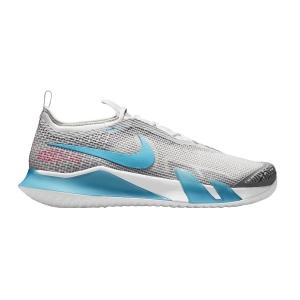 Calzado Tenis Hombre Nike React Vapor NXT HC  Grey Fog/Chlorine Blue/Hyper Pink/White CV0724024