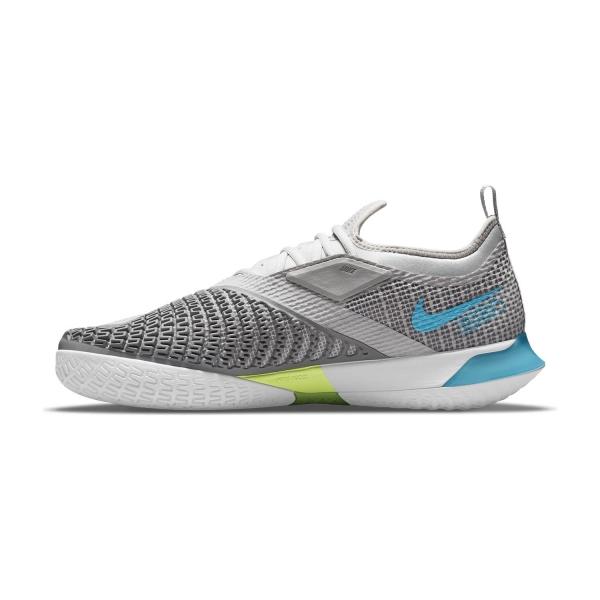 Nike React Vapor NXT HC - Grey Fog/Chlorine Blue/Hyper Pink/White