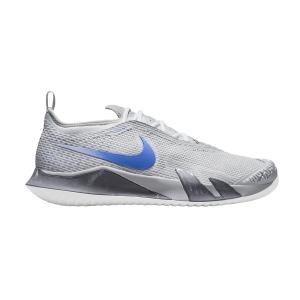 Scarpe Tennis Uomo Nike React Vapor NXT HC  Limited Smoke Grey/Hyper Royal/Aluminum CV0724008