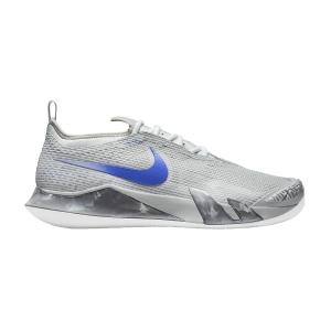 Calzado Tenis Hombre Nike React Vapor NXT Clay  Light Smoke Grey/Hyper Royal/Aluminum CV0726024