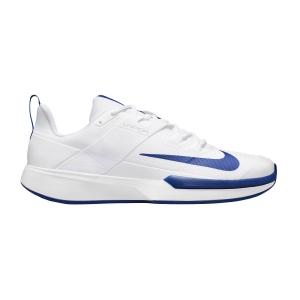 Men`s Tennis Shoes Nike Vapor Lite HC  White/Hyper Blu DC3432124