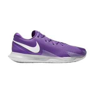 Men`s Tennis Shoes Nike Air Zoom Vapor Cage 4 HC Rafa  Wild Berry/White/Elemental Pink DD1579524