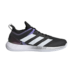 Men`s Tennis Shoes adidas Adizero Ubersonic 4 Clay  Core Black/Ftwr White/Silver Metallic FX1372