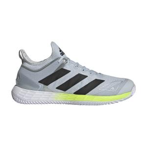 Calzado Tenis Hombre adidas Adizero Ubersonic 4 Clay  Ftwr White/Core Black/Halo Blue FX1371