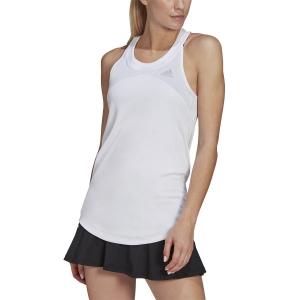 Women`s Tennis Tanks adidas Club Logo Tank  White/Grey Two GL5520
