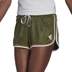 Faldas y Shorts adidas Club Logo 2in Shorts  Wild Pine/White GH7232