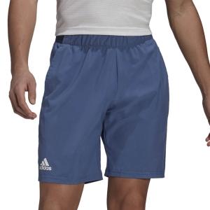 Men's Tennis Shorts adidas Club Stretch Woven 7in Shorts  Crew Blue/White GL5407