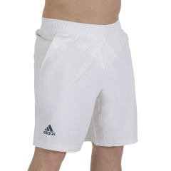 adidas Ergo Primeblue 9in Shorts - White/Crew Navy