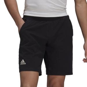 Men's Tennis Shorts adidas Ergo Primegreen 7in Shorts  Black/White GL5326