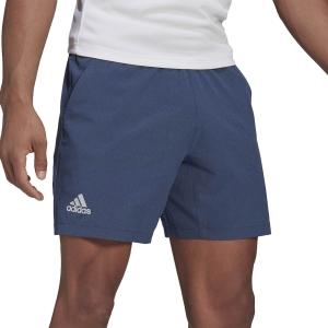 Men's Tennis Shorts adidas Ergo Primegreen 7in Shorts  Crew Blue GH7608