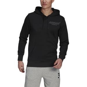 Men's Tennis Shirts and Hoodies adidas Graphic Hoodie  Black GK8158
