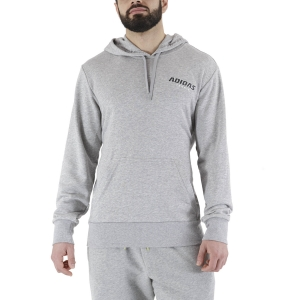 Men's Tennis Shirts and Hoodies adidas Graphic Hoodie  Medium Grey Heather GK8156