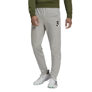 Pantaloni e Tights Tennis Uomo adidas Graphic Pantaloni  Medium Grey Heather GK8159