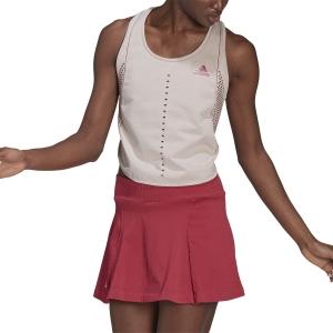 Women`s Tennis Tanks adidas Primeknit Primeblue Tank  Cream White GL5706