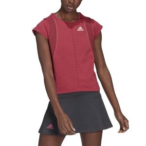 Magliette e Polo Tennis Donna adidas Primeknit Primeblue Maglietta  Wild Pink GL5705