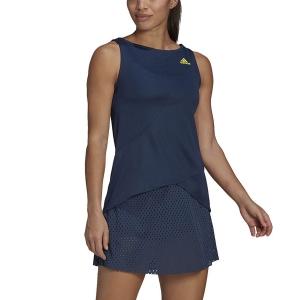 Vestito da Tennis adidas Seasonal Pro Vestito  Crew Navy/Acid Yellow GH7599