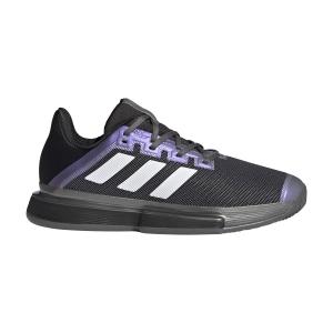 Scarpe Tennis Uomo Adidas SoleMatch Bounce Clay  Core Black/Ftwr White/Grey Five FX1736