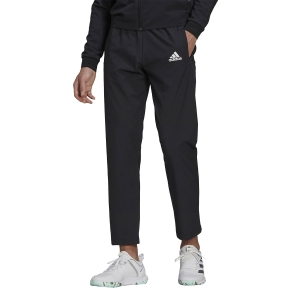 Pantaloni e Tights Tennis Uomo adidas Stretch Woven Primeblue Pantaloni  Black/White GU0763