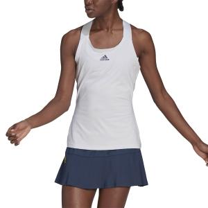 Women`s Tennis Tanks adidas YSign AEROREADY Tank  White/Black GH7550