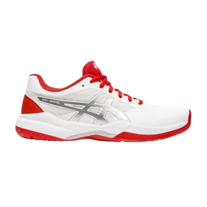 Scarpe Tennis Donna Asics Gel Game 7  White/Fiery Red 1042A036105