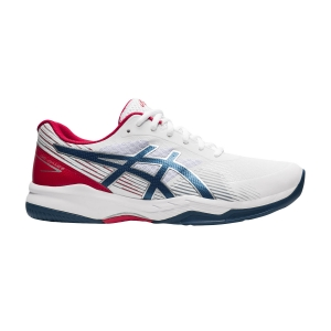Scarpe Tennis Uomo Asics Gel Game 8  White/Mako Blue 1041A192102