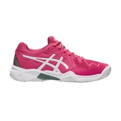Asics Gel Resolution 8 Clay GS Niña - Pink Cameo/White