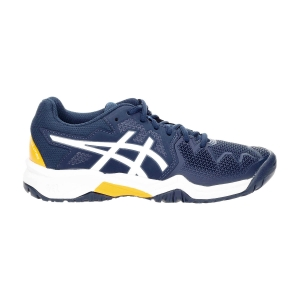 Junior Tennis Shoes Asics Gel Resolution 8 GS Boy  French Blue/White 1044A018403