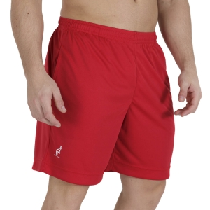 Men's Tennis Shorts Australian Ace Logo Classic 8in Shorts  Rosso TEUSH0005930