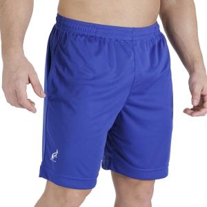 Men's Tennis Shorts Australian Ace Logo Classic 8in Shorts  Royal TEUSH0005B54