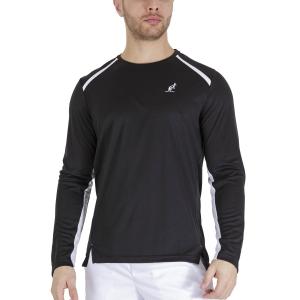 Men's Tennis Shirts and Hoodies Australian Ace Shirt  Nero TEUTS0005003