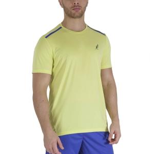 Maglietta Tennis Uomo Australian Ace Maglietta  Lime TEUTS0002074