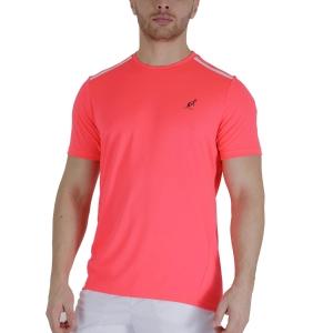 Men's Tennis Shirts Australian Ace TShirt  Psyco Red TEUTS0002419
