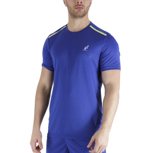 Maglietta Tennis Uomo Australian Ace Maglietta  Royal Blue TEUTS0002B54