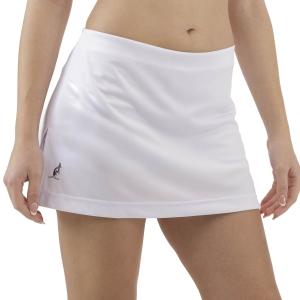 Gonne e Pantaloncini Tennis Australian Basic Gonna  Bianco TEDGO0004002