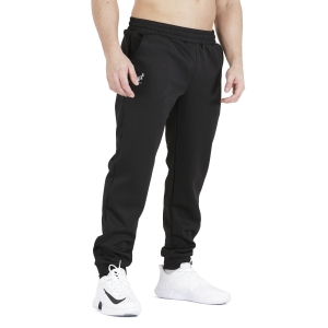Pantaloni e Tights Tennis Uomo Australian Big Logo Tech Pantaloni  Nero TEUPA0001003