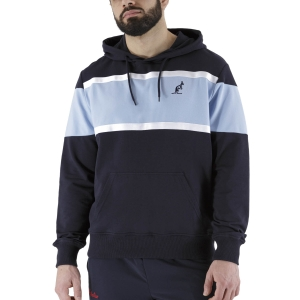 Men's Tennis Shirts and Hoodies Australian Classic Hoodie  Navy/Pastel Blue LSUFE0006200