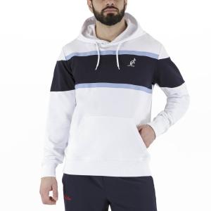 Men's Tennis Shirts and Hoodies Australian Classic Hoodie  White/Navy LSUFE0006002