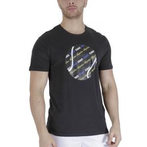 Men's Tennis Shirts Australian Graphic Ball TShirt  Nero TEUTS0007003