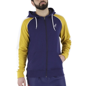Men's Tennis Shirts and Hoodies Australian Leisure Hoodie  Blu Cosmo LSUGC0009842
