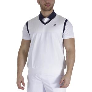 Men's Tennis Shirts and Hoodies Australian Logo Vest  Bianco TEUGI0001002